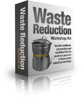 Improve your lean manufacturing projects with this waste walking kit.