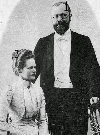 Wolfgang et Adelheid zu Ysenburg und Büdingen in Büdingen