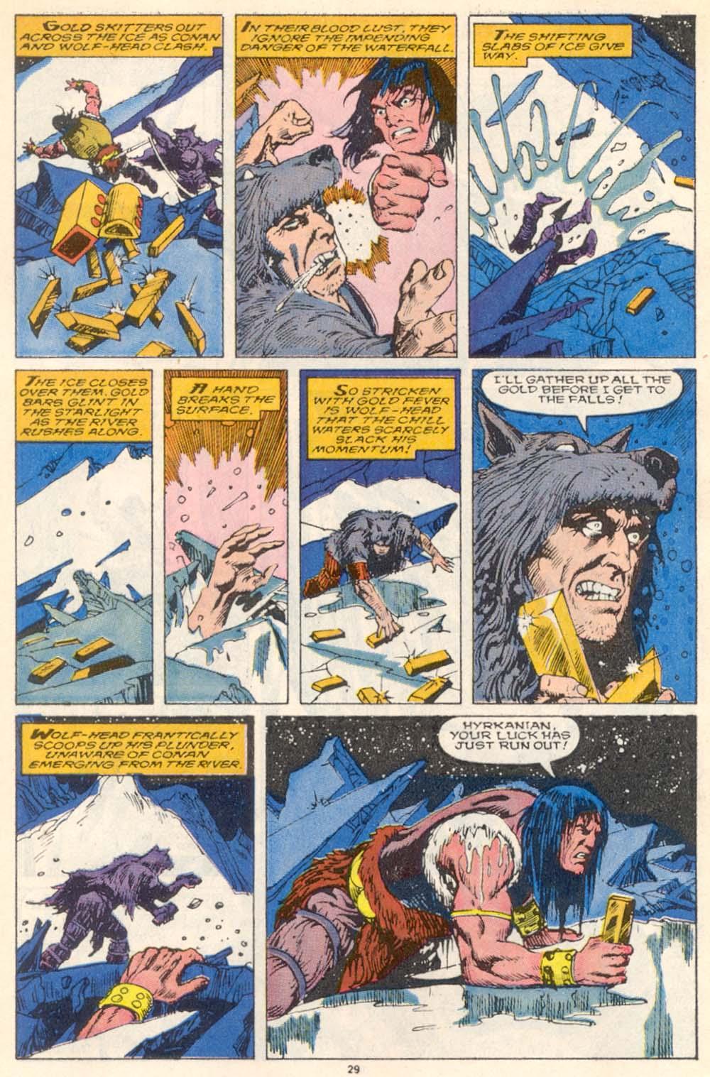 Conan the Barbarian (1970) Issue #220 #232 - English 23