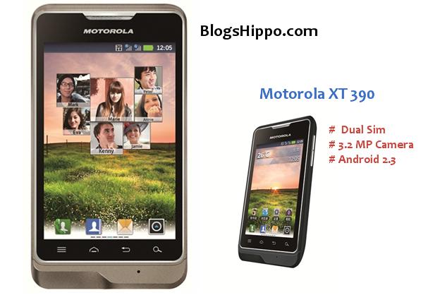 Motorola XT 390 Price pros cons