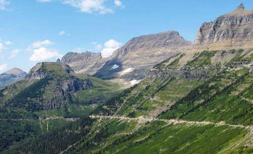 Going to the Sun Road - Glacier National Park - Montana - USA