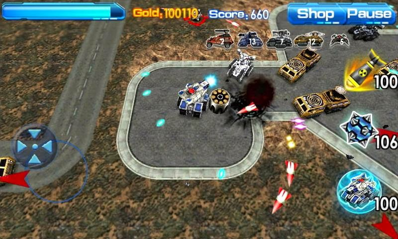 Game  Blast Tank 3D