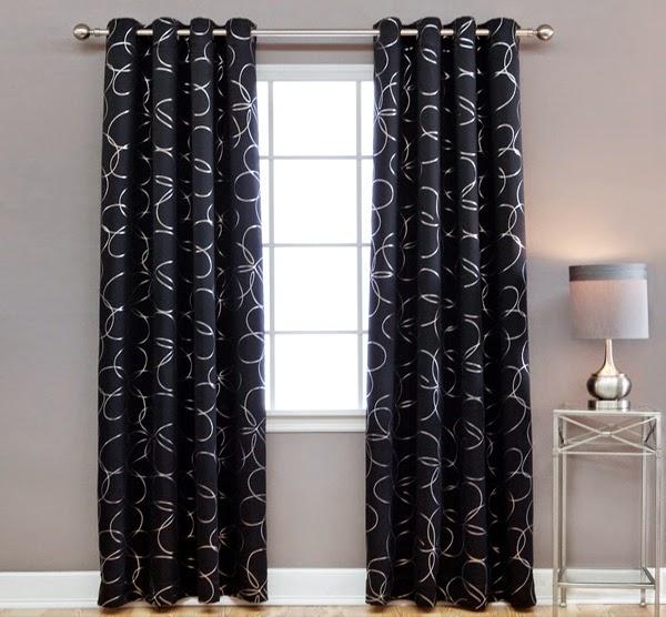 rideaux opaques rideaux et voilages. Black Bedroom Furniture Sets. Home Design Ideas