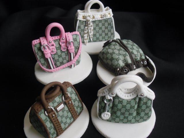 Made Fresh Daily Designer Handbag Cupcake Toppers More