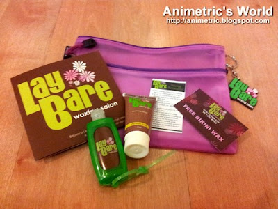Lay Bare Waxing Salon Gift Pack