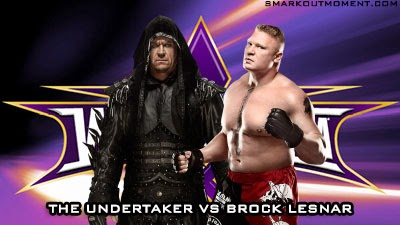 Undertaker Brock Lesnar UFC Confrontation Wrestlemania