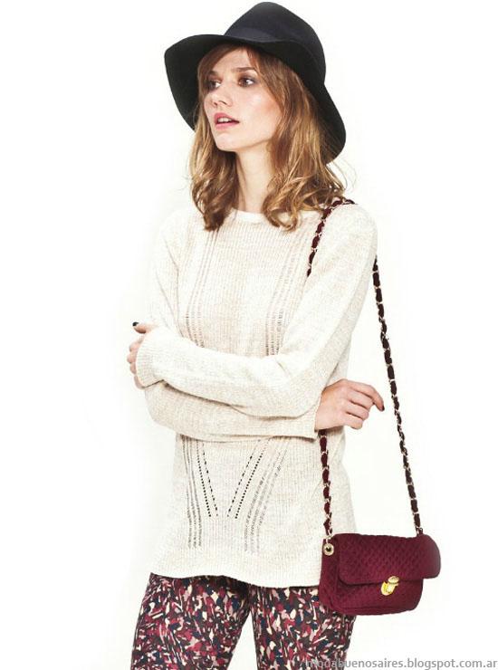 Moda otoño invierno 2014 Sweaters Asterisco.