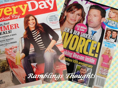 Ramblings Thoughts, Free, Coupons, Samples, Products, Magazines, Ok!, EveryDay with Rachel Ray
