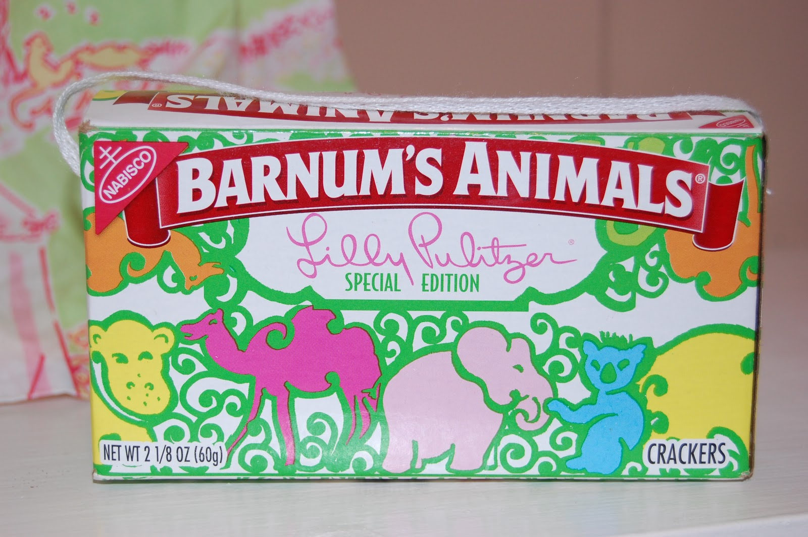 Baby Shower Favors With Animal Crackers ~ Wine taste beer budget nashville lilly pulitzer themed