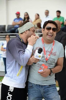 sohail khan wih kapil at CCL