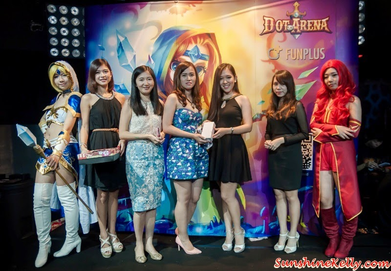 Yutong, Head of Emerging Markets of FunPlus, Dot Arena Cosplay Party in Malaysia by FunPlus, Dot Arena Cosplay Party, Dot Arena Games, RPG Games, Dot Arena FunPlus, Cosplayer, Cosplay party, online games
