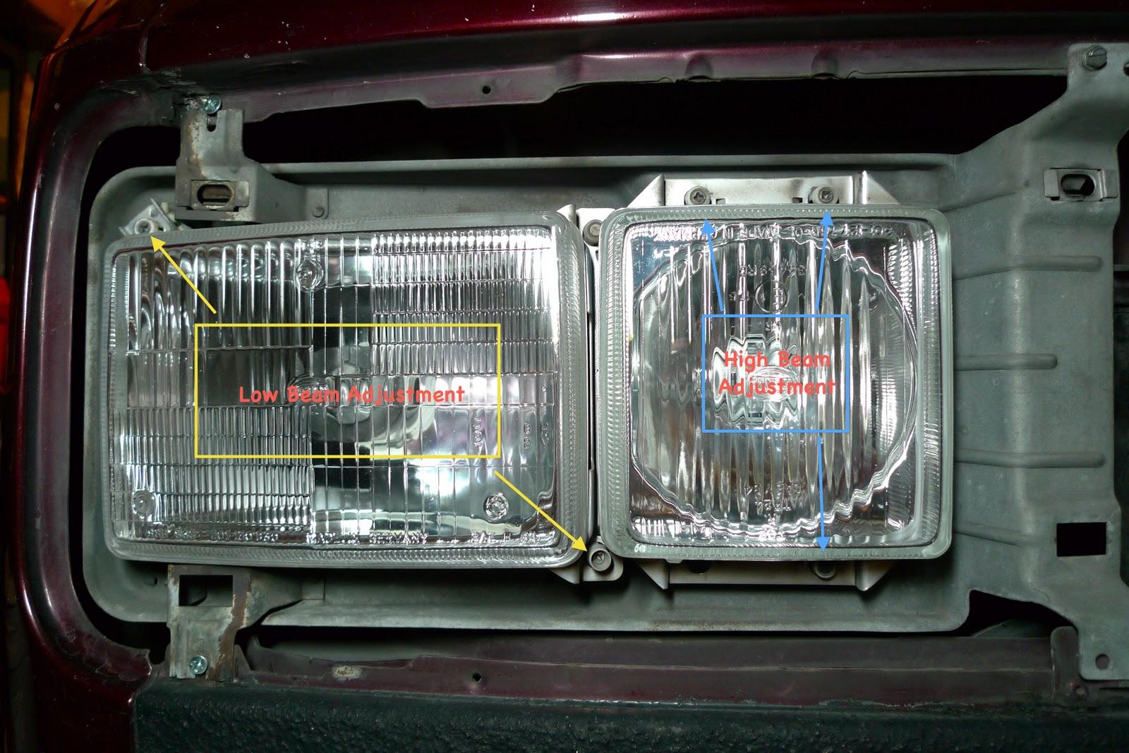 T3 Vanagon Spot  Vanagon Headlight Adjustment
