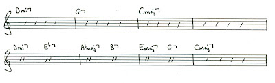 John Coltrane reharmonized many songs by superimposing this harmonic progression over a 2 - 5 - 1 harmonic sequence.