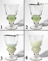 El peligroso licor del hada verde, Absenta