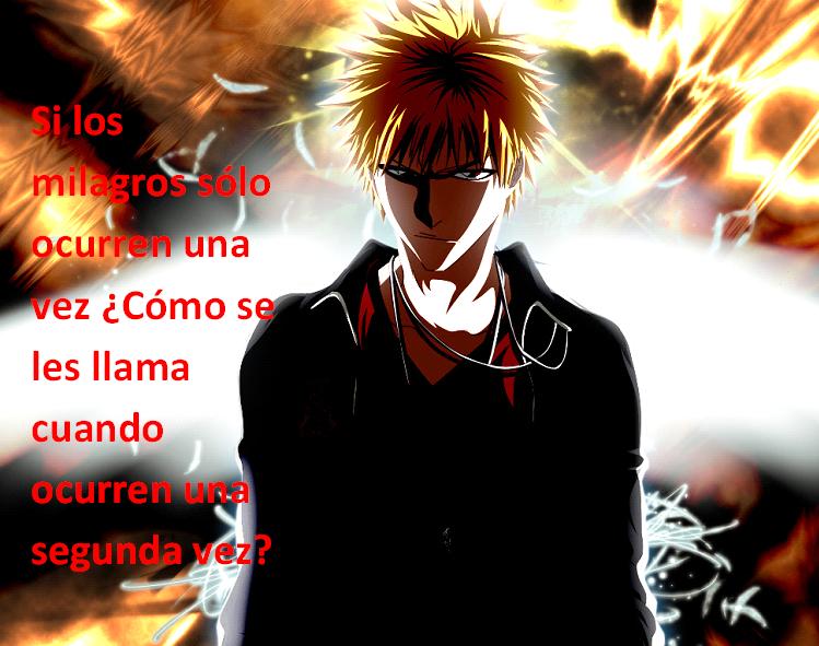 Frases con fotos del anime. ICHIGO5