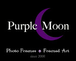 Purple Moon Frames and Art