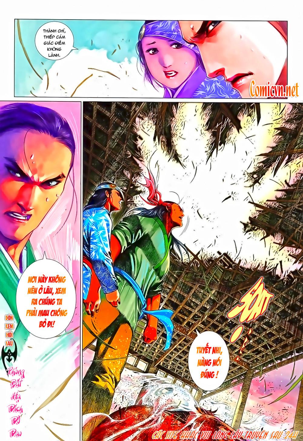 Phong Vân chap 638 Trang 25 - Mangak.info