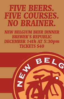 New Belgium Beer Dinner