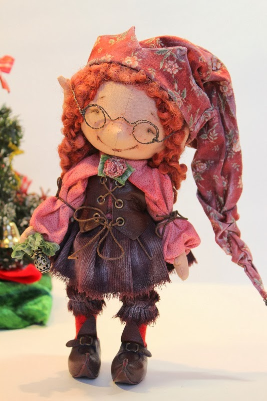 Кукла-гномик своими руками