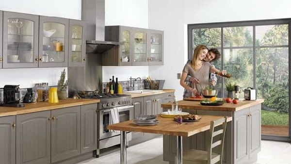Modern kitchen collection from conforama kitchen design for New kitchen designs 2012