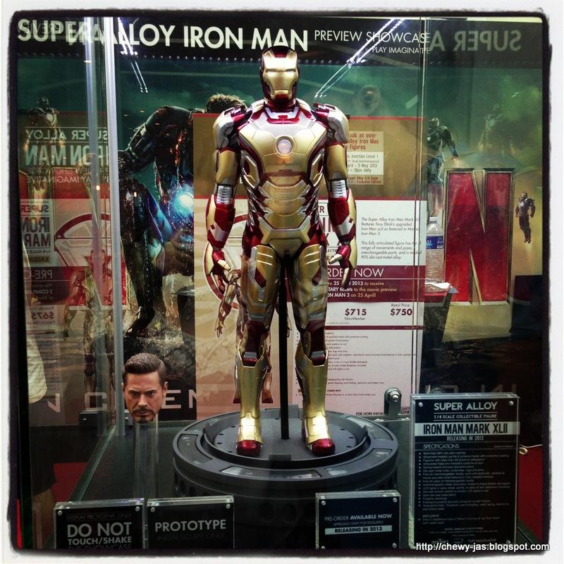 Iron Man Mark 16 Nightclub The Iron Man Mark Xlii Was The