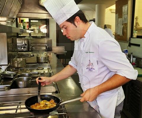 El montillano sergio jim nez se sit a entre las mejores for La cocina de sergio