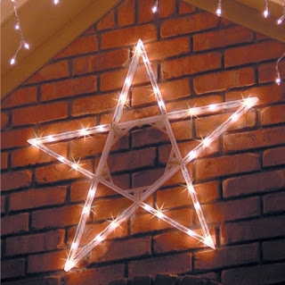 Christmas LED Folding Star Light Decoration Ideas Style