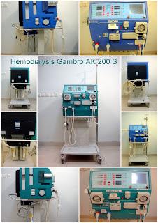 Jual Mesin Hemodialisis Alat Untuk Cuci Darah - Harga Terjangkau Hemodialysis+Gambro+AK+200+Ultra+S