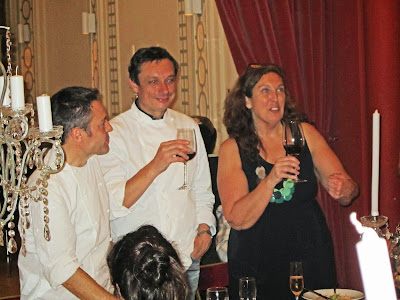 Olivier, Bruno y Patricia