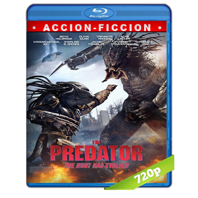 El Depredador (2018) BRRip 720p Audio Trial Latino-Castellano-Ingles 5.1