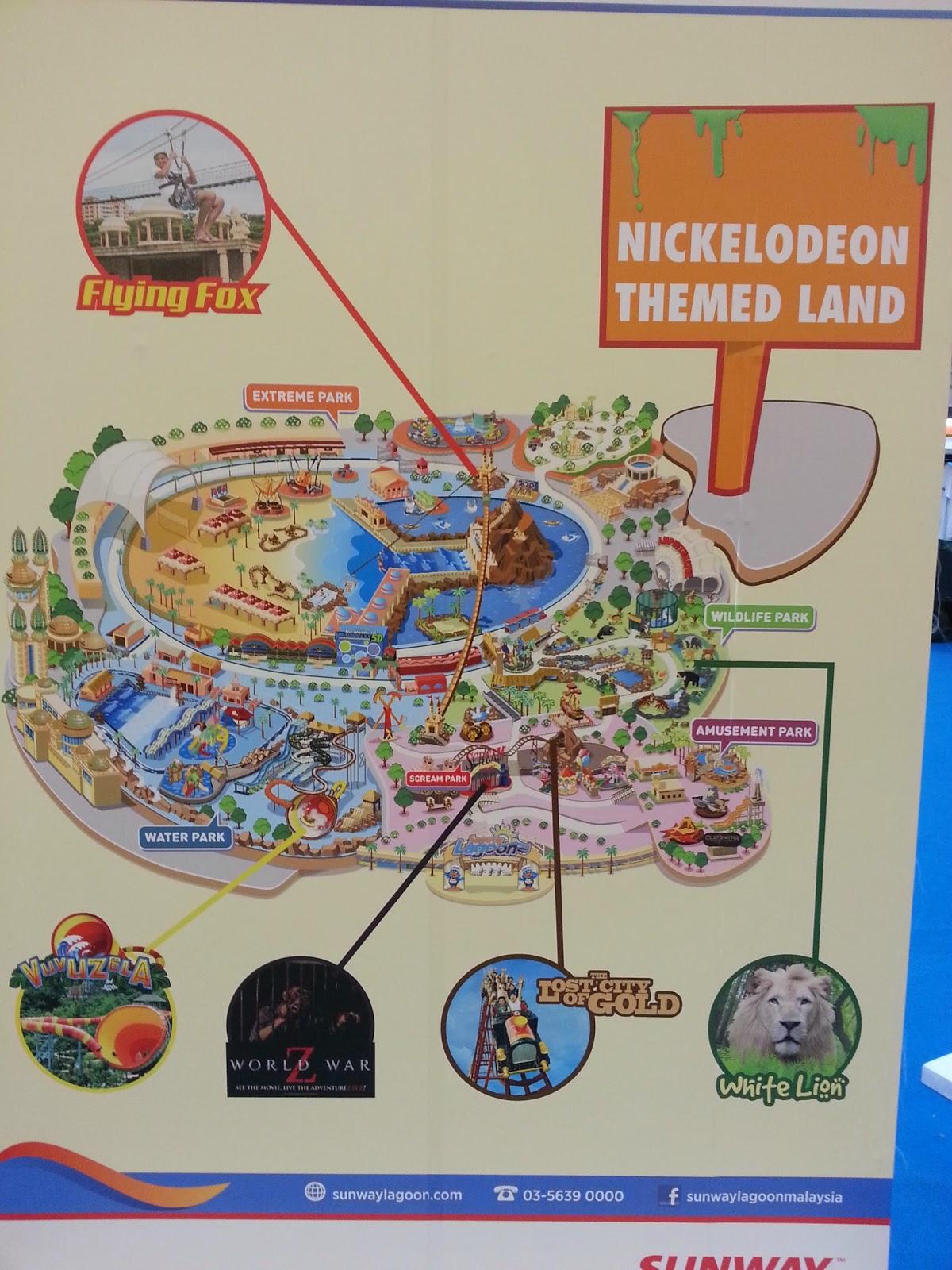 Diari Si Ketam Batu Jom Gedik Santai Ke Sunway Lagoon Tiket Kuala Lumpur Dewasa Jika Kita Lihat Map Di Atas Terbahagi Kepada Empat Tarikan Utama Amusement Park Wildlife Extreme Dan Water