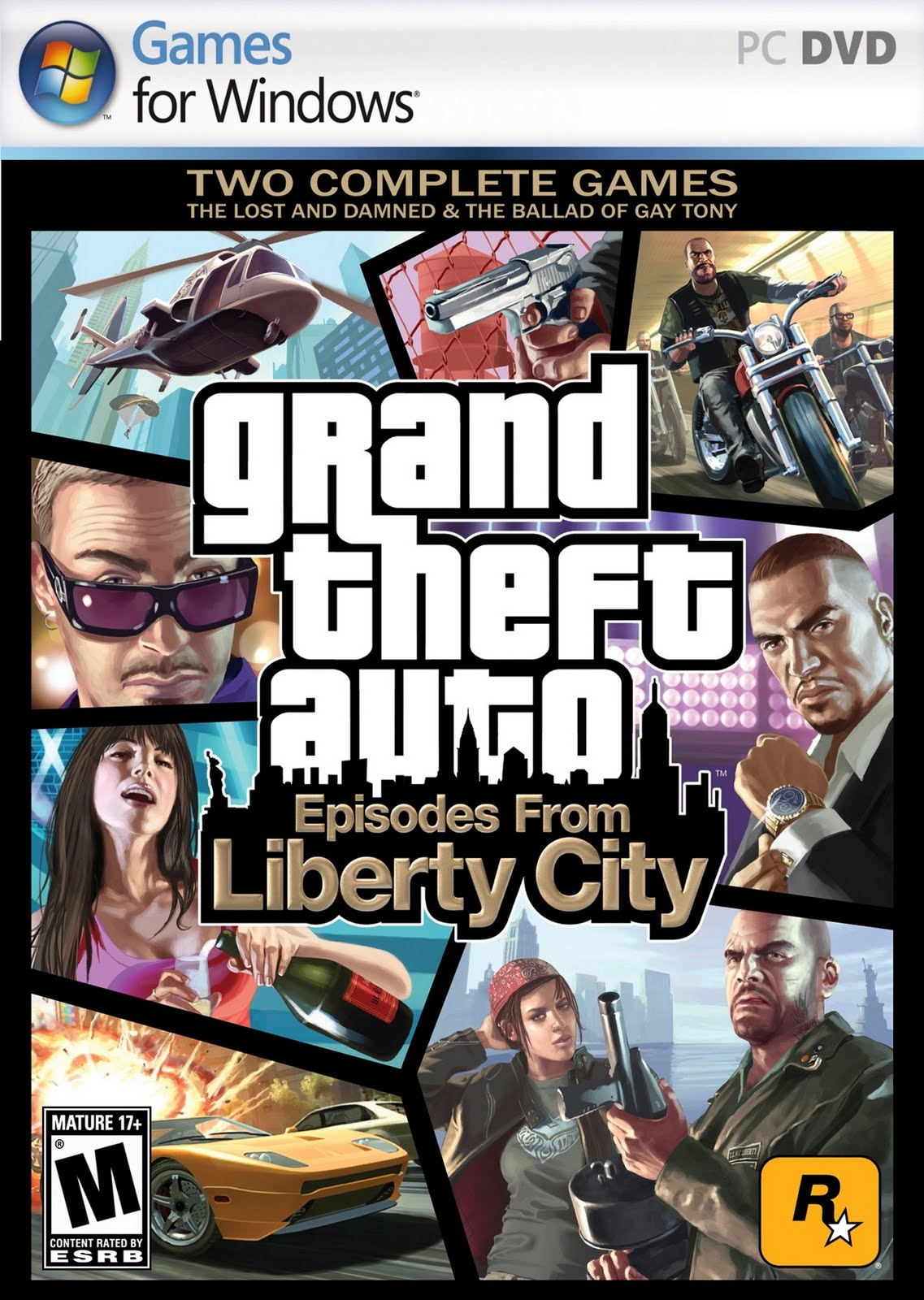 Dream Games: GTA IV : Episodes from Liberty City