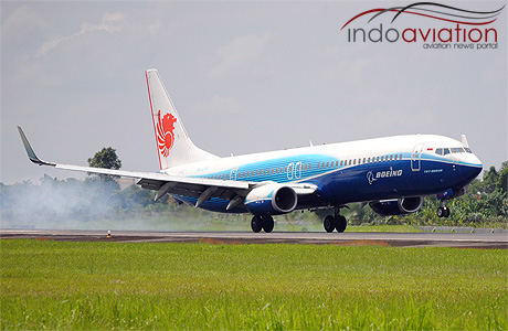 Lion Air 737-900ER PK-LFF Boeing Livery
