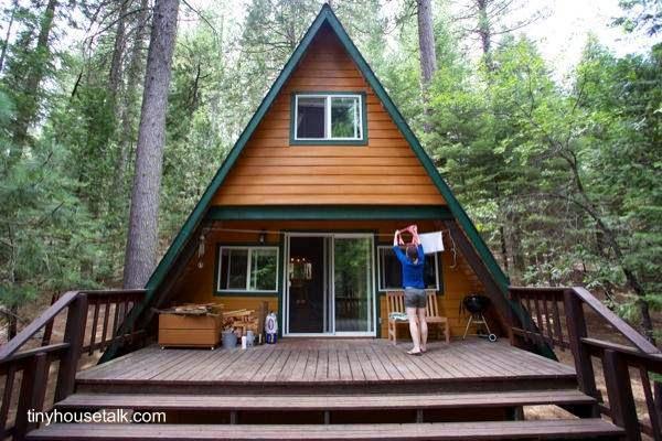 Arquitectura de Casas: 11 cabañas rústicas pequeñas de madera.