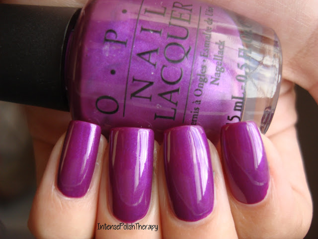 OPI - Plugged In Plum