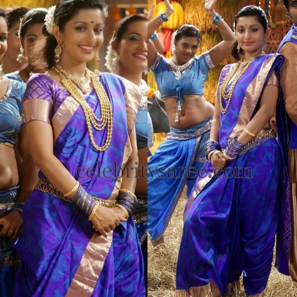 Meera Jasmine Uppada Saree
