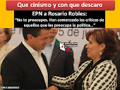 SE MOFAN DE PEA NIETO Y DE ROSARIO ROBLES...