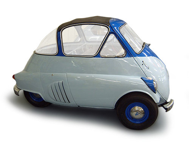micro carros - microcars - Iso Isetta