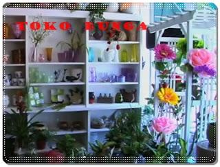 usaha toko bunga florist