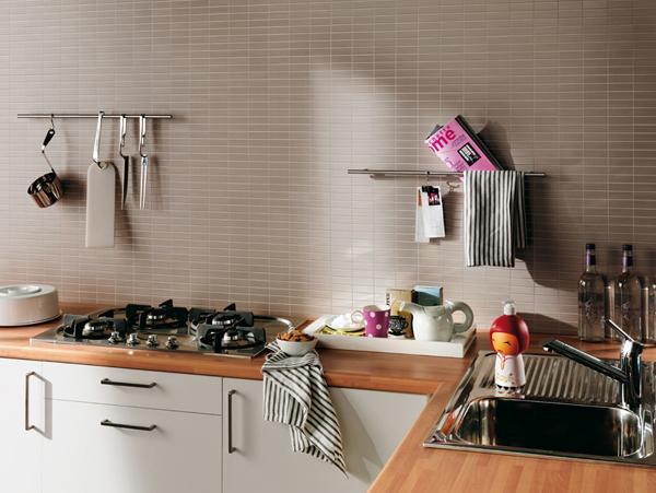 Pola Unik Dinding Dapur Rumah Minimalis