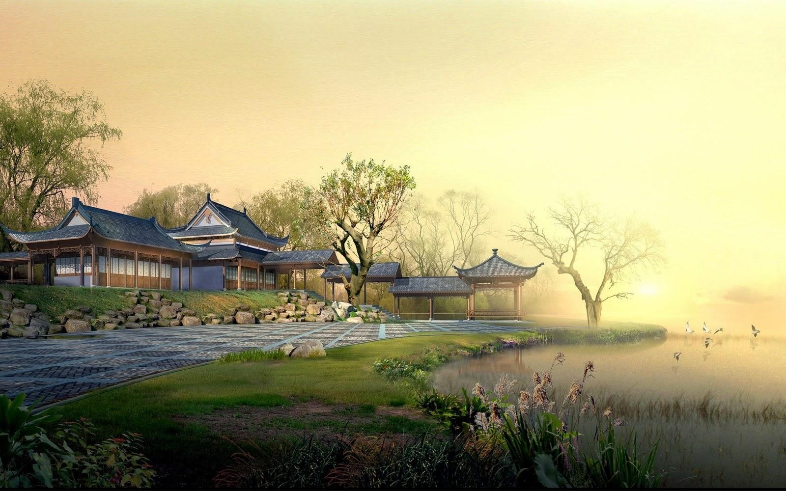 Japan Digital Landscape High Resolution Pictures