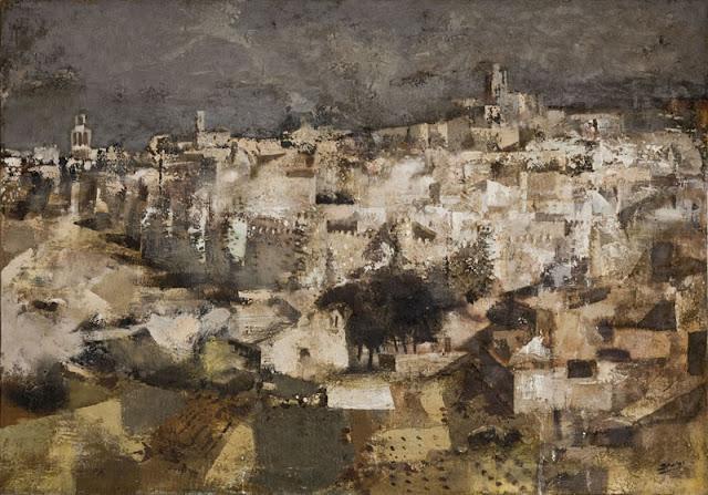 Paisaje pintado en 1966