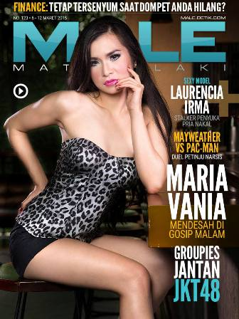 Download Gratis Majalah MALE Mata Lelaki Edisi 123 Cover Model Maria Vania MALE Mata Lelaki 123 Indonesia | Cover MALE 123 Maria Vania - Terkena Karma Presenter | www.insight-zone.com