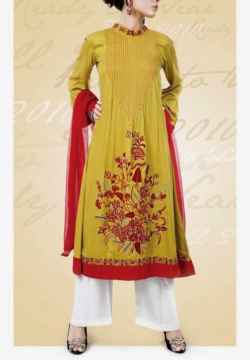 Casual Dresses 2015 Pakistani