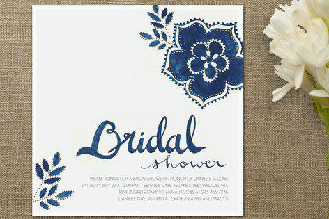 Abby mitchell event planning and design dont underestimate the invite this sweet square shower invitation shows that you will pay a little extra for postage on an unordinary shape meaning guests might pay a little extra for stopboris Choice Image