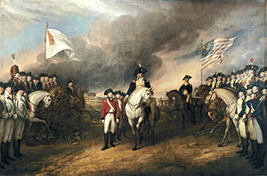 Battle of Yorktown Cornwallis' Surrender