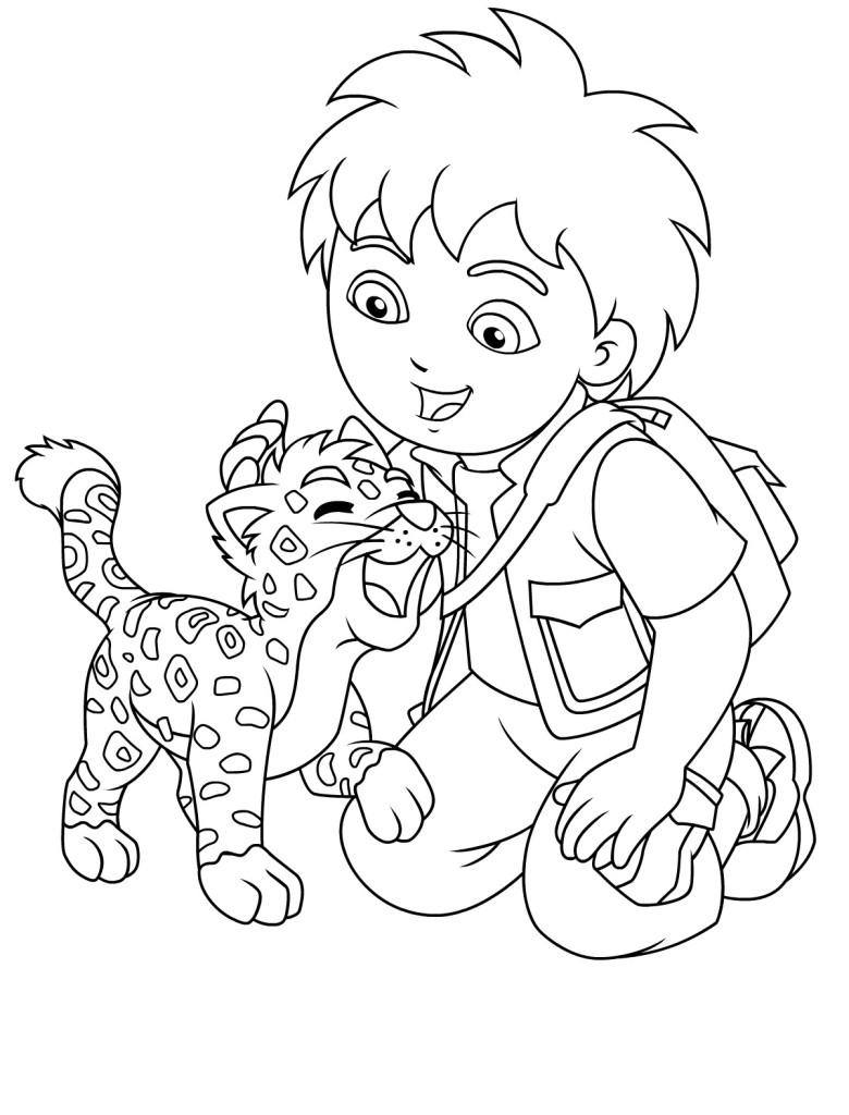 Desenhos Da Dora A Aventureira Para Colorir