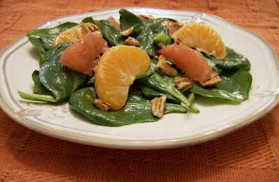 Citrus Spinach Salad | Ms. enPlace