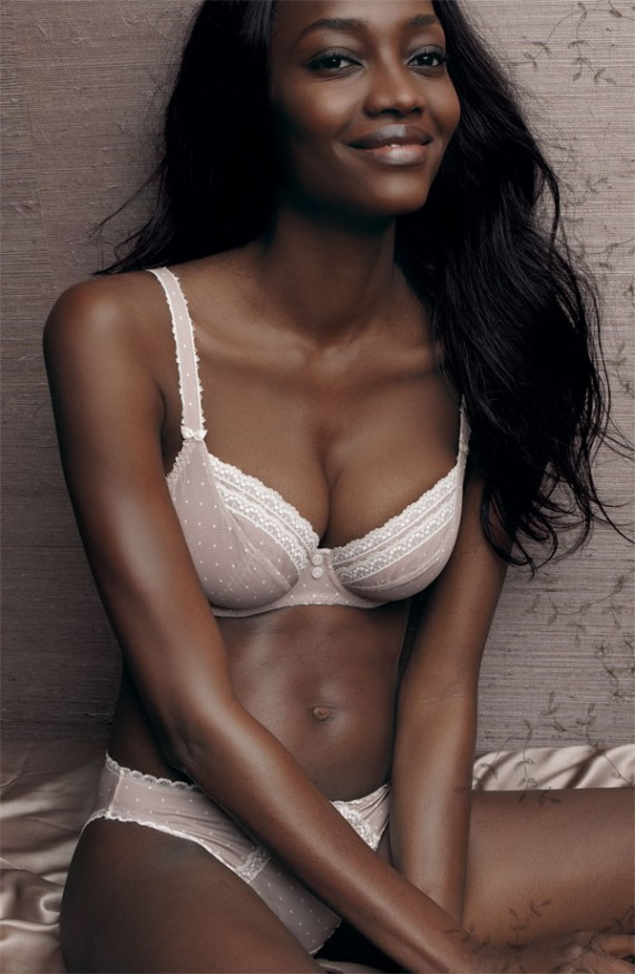 ... Nigerian model Oluchi Onweagba. The pictures were taken for Nordstrom's ...
