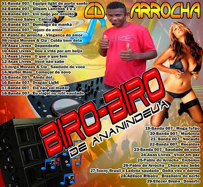 CD ARROCHA LANÇAMENTO 27/04/2015 DJ BIROBIRO